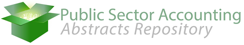 Public Sector Accounting Abstracts Repository